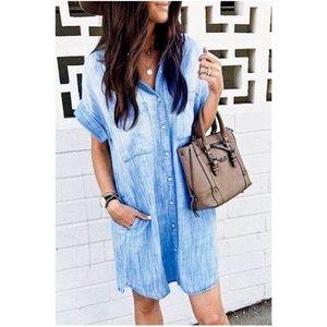 Dresses & Skirts - Riley DENIM Shirt Dress